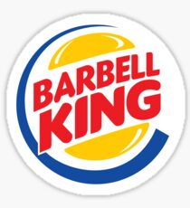 Barbell King Sticker