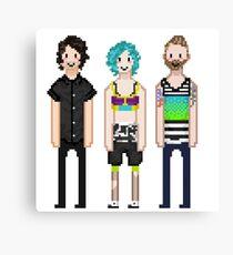 p-more pixels Canvas Print