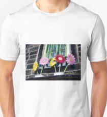 Smiling Flowers Unisex T-Shirt