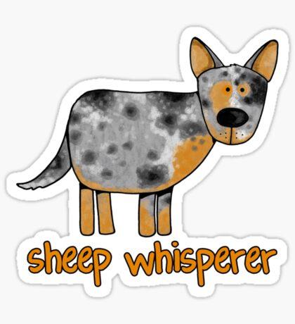 Sheep whisperer Sticker