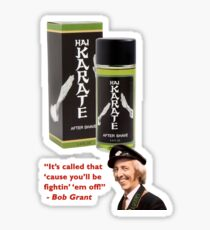 'Ai Karate - Advert by Bob Grant of On the Buses Sticker