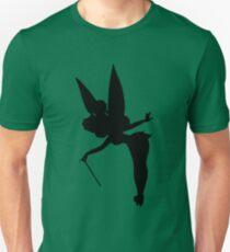 Black Tinker Silhouette Unisex T-Shirt