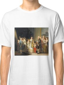 Francisco Goya - Charles Iv Of Spain And His Family Classic T-Shirt