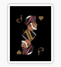 King of Hearts Sticker