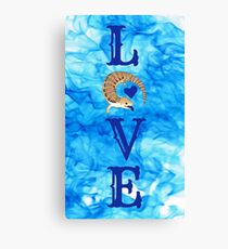 Love Blue Tongued Skink  Canvas Print