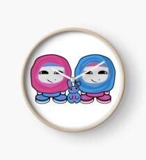 Aliyah & Laylah O'BABYBOT Toy Robots (and Pocket) Clock
