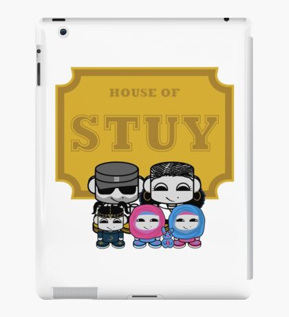 O'BABYBOT: House of Stuy Family iPad Case/Skin
