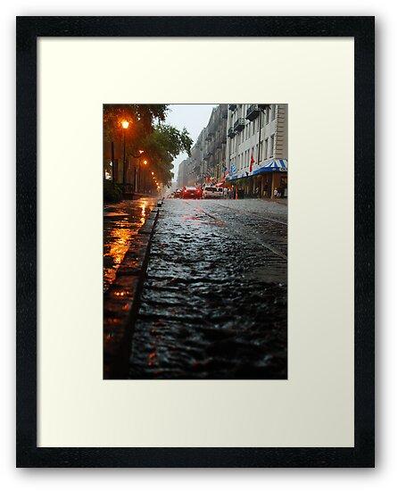"River Street, Savannah 2 by Arthur ""Butch"" Petty"