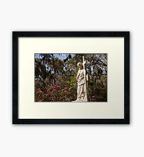 Bonaventure Cementery Framed Print