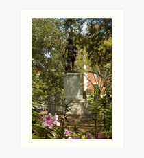 Chippewa Square Art Print