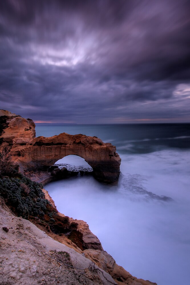Rock Arch Dawn by Robert Mullner