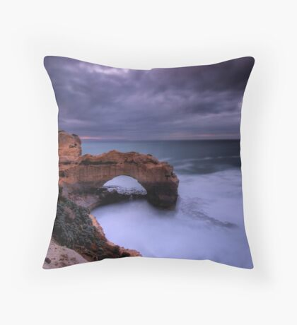 Rock Arch Dawn Throw Pillow