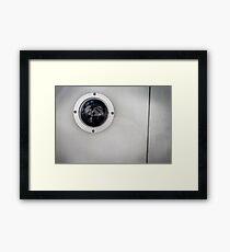 Security Camera Framed Print