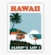 HAWAII SURF Sticker