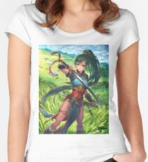 Lyn - Fire Emblem: The Binding Blade  Women's Fitted Scoop T-Shirt