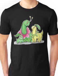 The Chikorita family Unisex T-Shirt