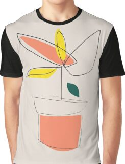 Abstract plant Graphic T-Shirt
