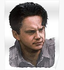 Andy Dufresne (colour) Poster