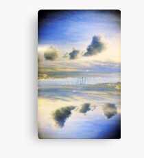 Dublin Poolbeg chimneys Canvas Print