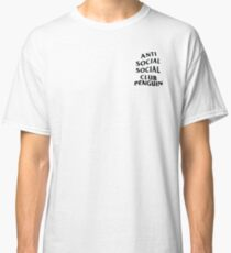 anti anime anime club penguin Classic T-Shirt