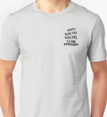 anti anime anime club penguin T-Shirt