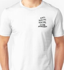 anti anime anime club penguin Unisex T-Shirt