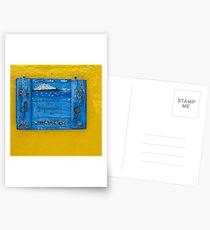 """Greek Colors"" Calendar 2015 - June Postcards"
