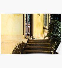 Lucca Doorstep Poster
