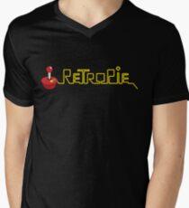 retropie horizontal Men's V-Neck T-Shirt