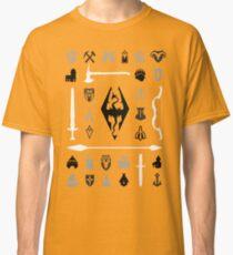 Skyrim: Symbol Collection Classic T-Shirt