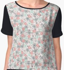 Rabbit floral Women's Chiffon Top