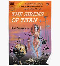 Die Sirenen des Titanen von Kurt Vonnegut - Siren Cover Poster