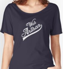 web artisan white edition Women's Relaxed Fit T-Shirt