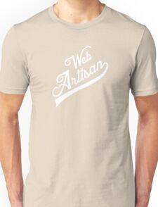 web artisan white edition Unisex T-Shirt