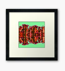 Surreal Cactus Art Framed Print