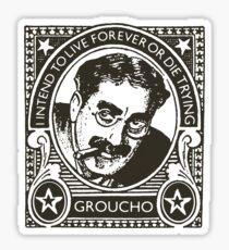 Vintage Groucho  Sticker