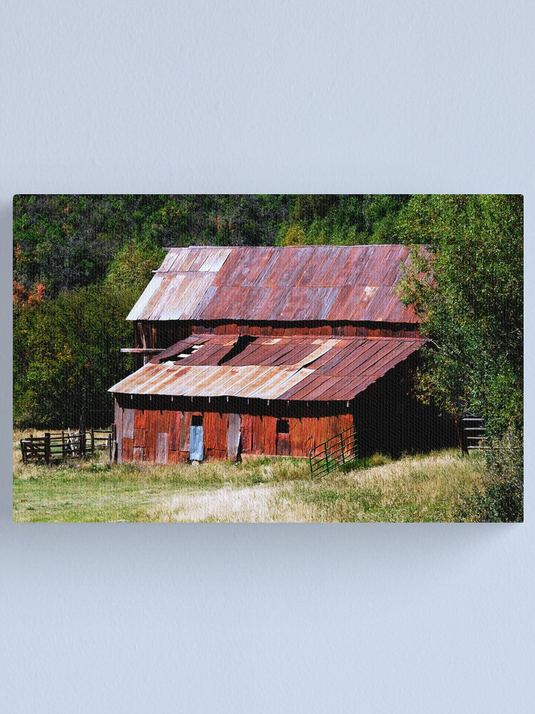Alternate view of Rusted but Still Standing Canvas Print