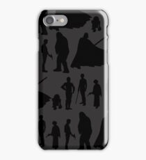 Print-cess & Friends in Rows iPhone Case/Skin