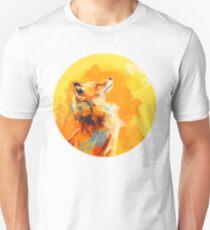 Blissful Light - Fox portrait Unisex T-Shirt