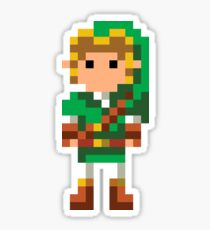 The Legend of Zelda 16-Bit Link Sticker
