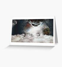 PotterWhoLock Surrealism Greeting Card