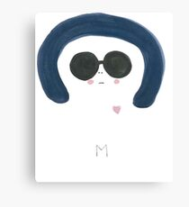 M is for Mysterious Canvas Print