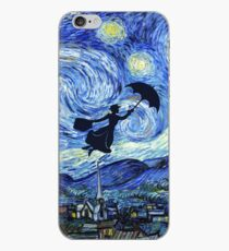 Mary Poppins Starry Night iPhone Case