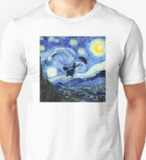 Mary Poppins Starry Night Unisex T-Shirt