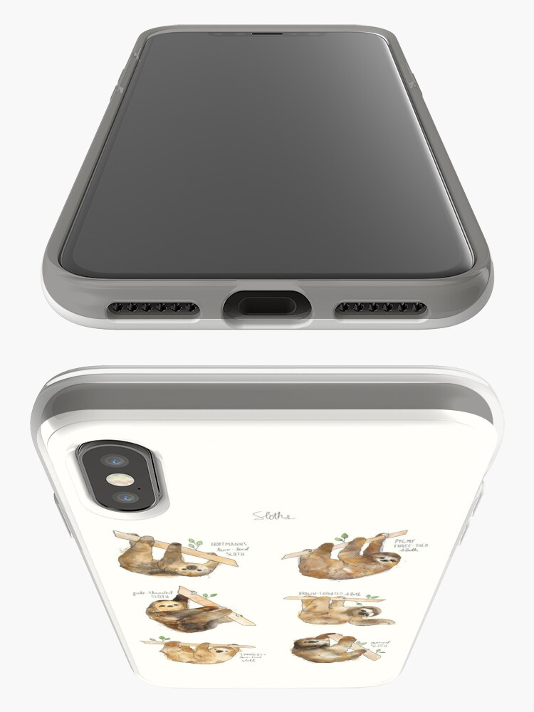 Alternate view of Sloths iPhone Case & Cover