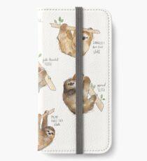 Sloths iPhone Wallet/Case/Skin
