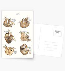 Sloths Postcards