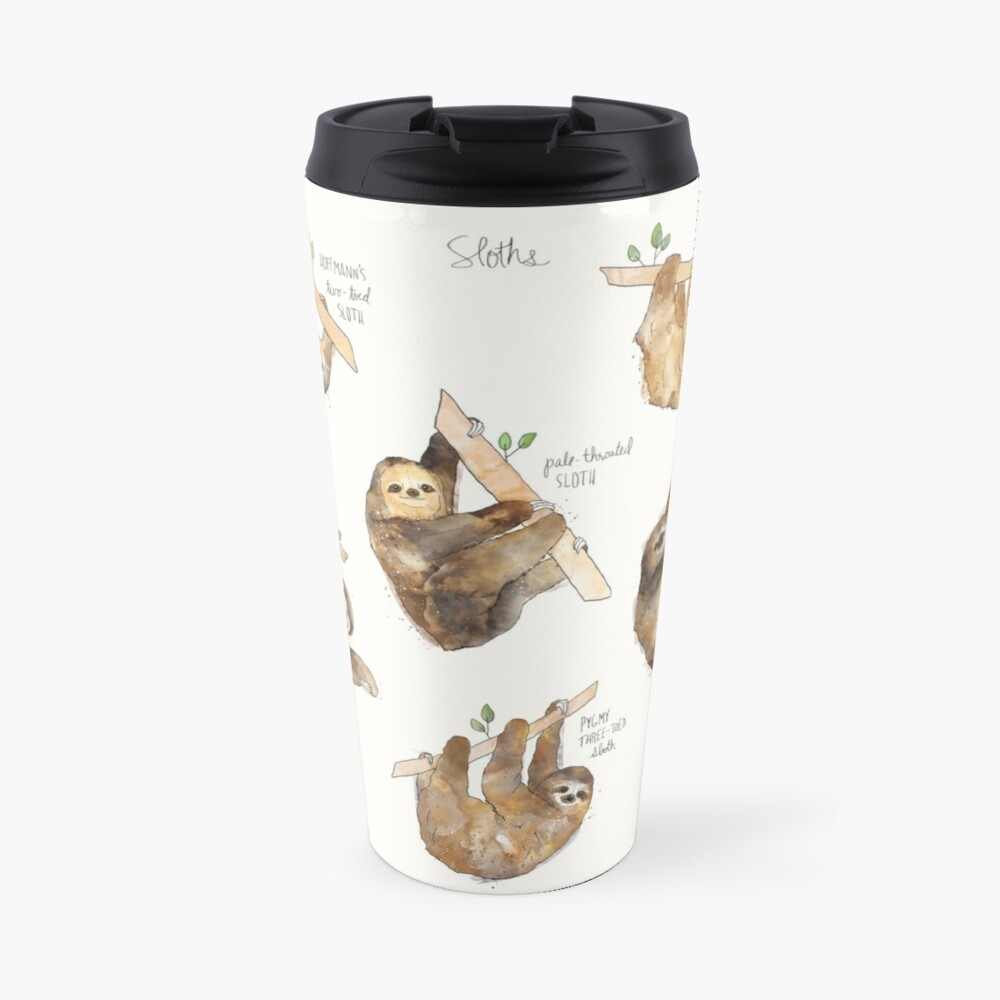 Sloths Travel Mug