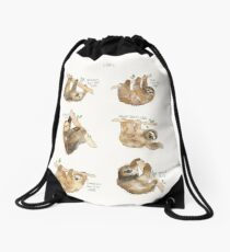 Sloths Drawstring Bag