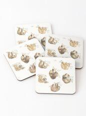 Sloths Coasters